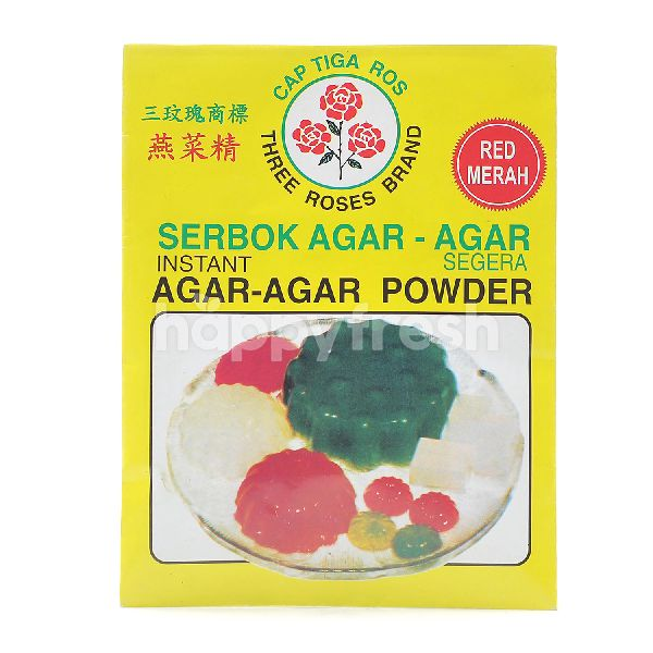 THREE ROSES BRAND Instant Agar-Agar Powder - Red