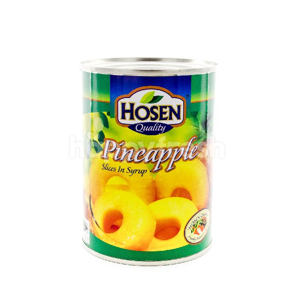Hosen Quality Pineapple Slices In Syrup
