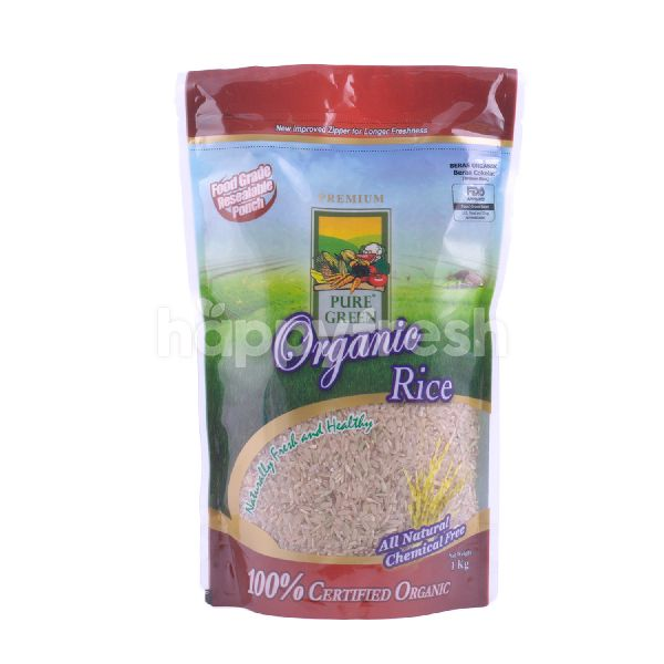 Product: Pure Green Organic Brown Rice - Image 1