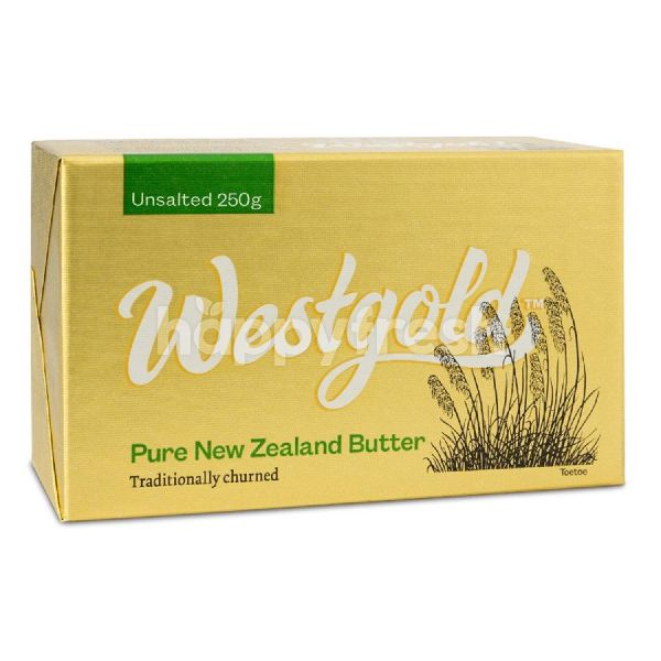 Product: Westgold Unsalted Butter 250G - Image 1