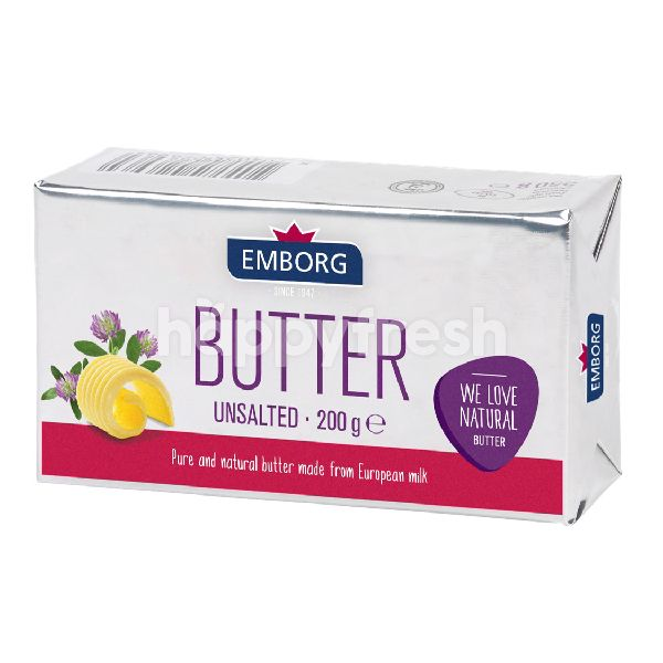 Buy Emborg Unsalted Butter 200g At Selections Happyfresh