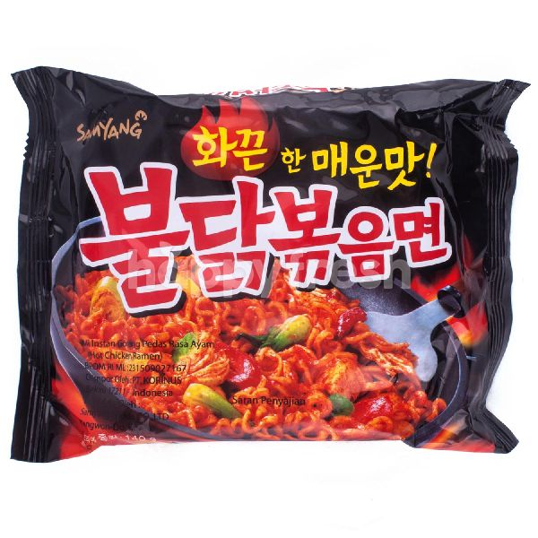 Product: Samyang Spicy Instant Fried Noodles - Image 1