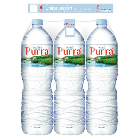 Purra' Natural Mineral Water 1.5 L (Pack 6)