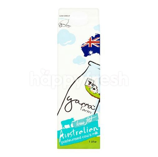 Yarra Farm Australian Pasteurised Cow's Milk 1L (Low Fat)