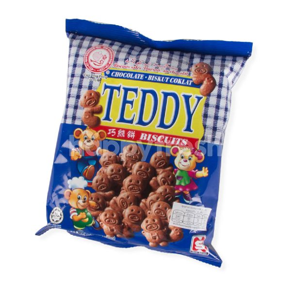 Product: Cap Ping Pong Chocolate Flavour Teddy Biscuits - Image 1