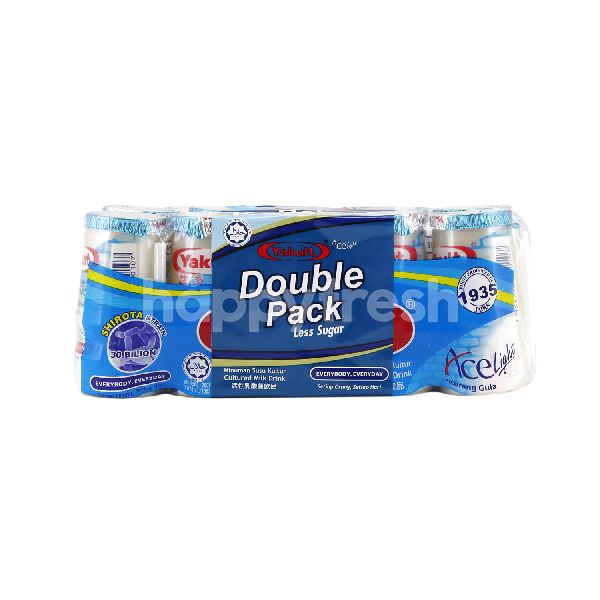 Product: Yakult Double Pack Yakult Less Sugar Ace Light Cultured Milk Drink - Image 1