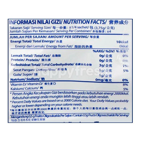 Product: Nutrijell Powdered Jelly Strawberry - Image 3