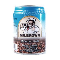 Mr. Brown Minuman Kopi Rasa Vanila