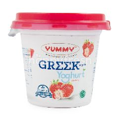 Yummy Yogurt Greek Rasa Stroberi
