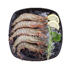 Food Diary Fz Raw Whole Black Tiger Shrimp Head On