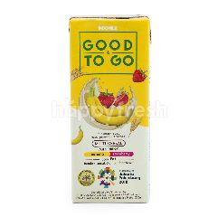 Indomilk Good to Go Chocolate Minuman Susu Multi Sereal Rasa Stroberi dan Pisang
