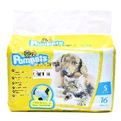PAMPETS Pets Diaper Small (16 Pieces)