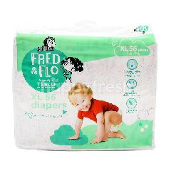 Fred & Flo XL Sized Diapers