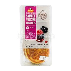 Creapan Delicious Sweet Toaster Cakes (6 Pieces)