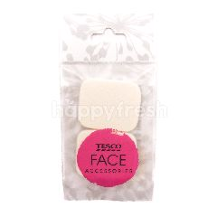 Tesco Face Accessories Foundation Sponge Square (Twin)