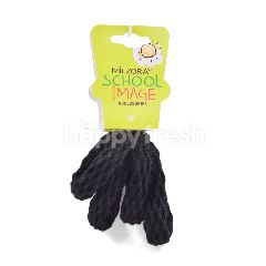 Miezora School Mage Accessories Hair Bands (Thick Black Colour)