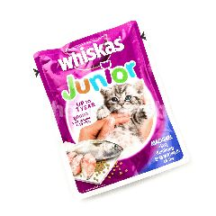 Whiskas Junior Mackerel Flavored Kitten Food