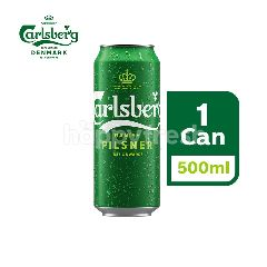 Carlsberg Danish Pilsner Beer Can (500ml)