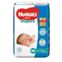 Huggies Dry Diapers Jumbo Pack Newborn64pcs
