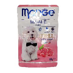 MONGE Pork Flavoured Grill Dog Food