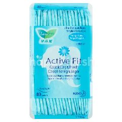 Laurier Active Fit Quick Dry & Fresh Non Perfumed