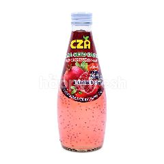 Cza Basil Seed Drink With Pomegranate