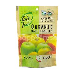 GO ORGANIC Organic Hard Candies - Apple