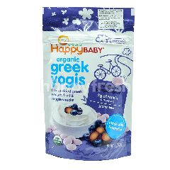 HAPPY BABY Organic Greek Yogis - Blueberry Purple Carrot
