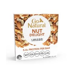 Go Natural Chopped Nut Delight Snack Bars