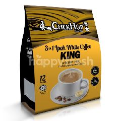 Chek Hup 3 In 1 Ipoh White Coffee King (40gm x 12 Sachets)