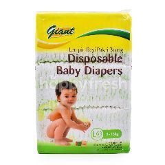 Giant Disposable Baby Diapers L Size (63 Pieces)