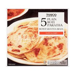 Tesco Plain Roti Paratha (5 Pieces)