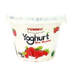 Yummy Yogurt Rasa Raspberi