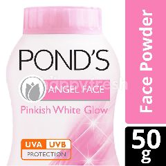 Pond's Angel Face Natural Pinkish White Glow Face Powder