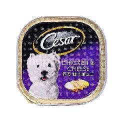 Cesar Chicken & Cheese Dog Food