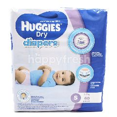 HUGGIES Dry Diapers - Small Size For 3-7 kg