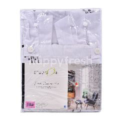 Studio One Faux Cotton Art Curtain