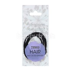 Tesco Hair Accessories Black Hair Bands (4 Pieces)