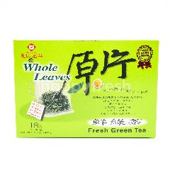 Ten Ren Fresh Green Tea (18 Sachets)