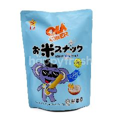 Ola Cheer Sea Salt Flavoured Wheat Rice Snack (6 Pieces)