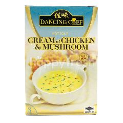 Dancing Chef Cream Of Chicken And Mushroom Hot Soup