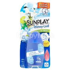 SUNPLAY Spf75 Pa+++  Watery Cool Icy Cool Sunscreen Protect