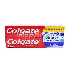 Colgate Triple Action Toothpaste (2 Pack x 175g)