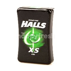 Halls XS Lime Candy