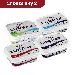Lurpak Spreadable Butter 2Pcs (Choose your own variant)Perfect Bread Partner for Christmas