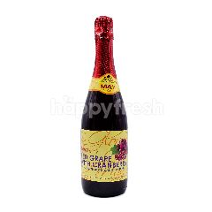 May Glory Red Grape With Cranberry Flavoured Carbonated Soft Drink