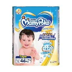 Mamypoko Extra Dry Tape L Size (46 Pieces)