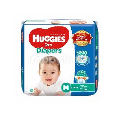Huggies Dry Super Jumbo Diapers M72