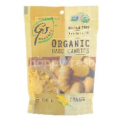 GO ORGANIC Organic Hard Candies - Ginger