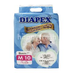 Diapex Basic M10 Unisex Adult Diapers